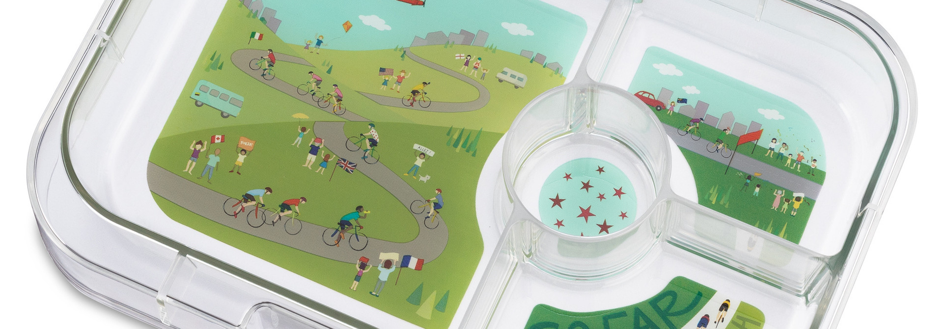 Yumbox Panino extra tray 4-vakken Bike Race