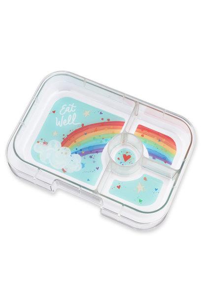 Yumbox Panino tray 4-vakken Rainbow