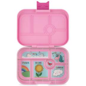 Yumbox Original 6-sections Power pink/ Unicorn tray
