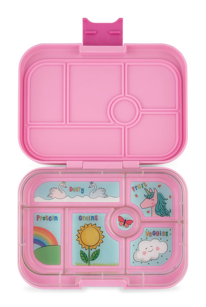 Yumbox Original 6-vakken Power roze