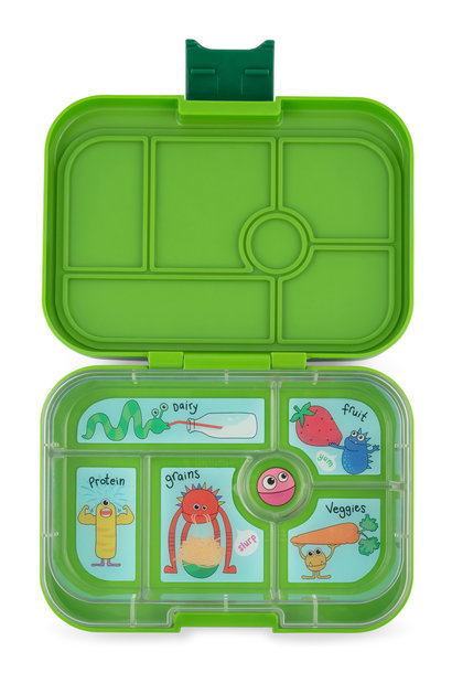 Yumbox Original 6-sections Go Green