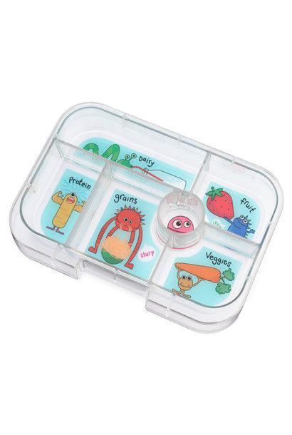 Yumbox Original tray 6-vakken Funny Monsters
