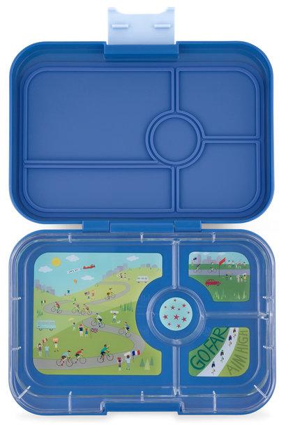 Yumbox Tapas XL 4-vakken True blue