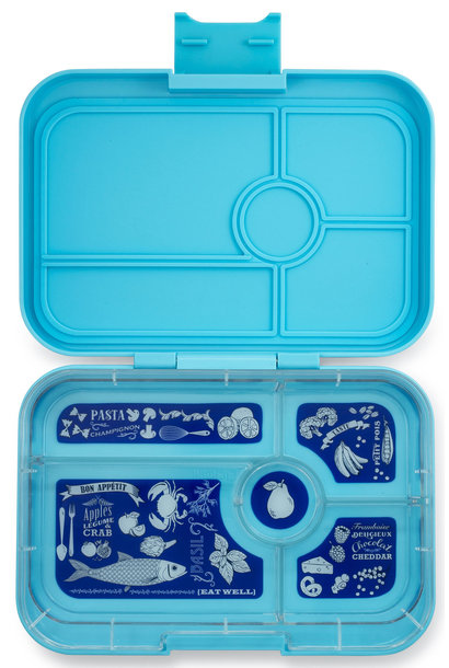 Yumbox Tapas XL 5-sections Nevis blue