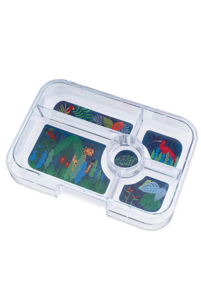Yumbox Tapas XL tray 5-sections Jungle