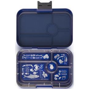 Yumbox Tapas XL lunchtrommel Portofino blauw / Bon appetit tray 5-vakken