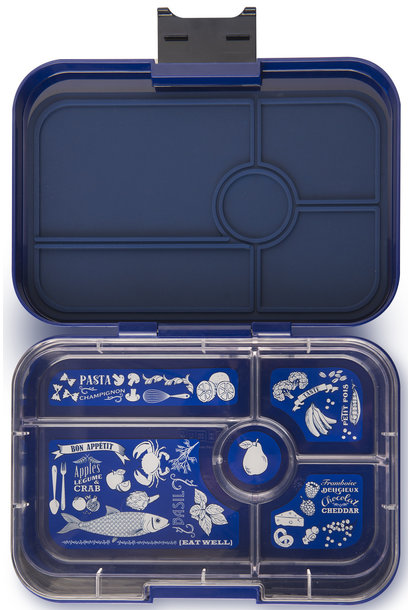 Yumbox Tapas XL 5-sections Portofino blue