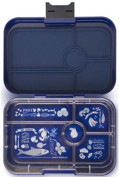 Yumbox Tapas XL 5-vakken Portofino Blauw