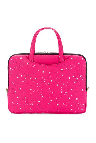 Yumbox Poche met handgrepen roze / sterren