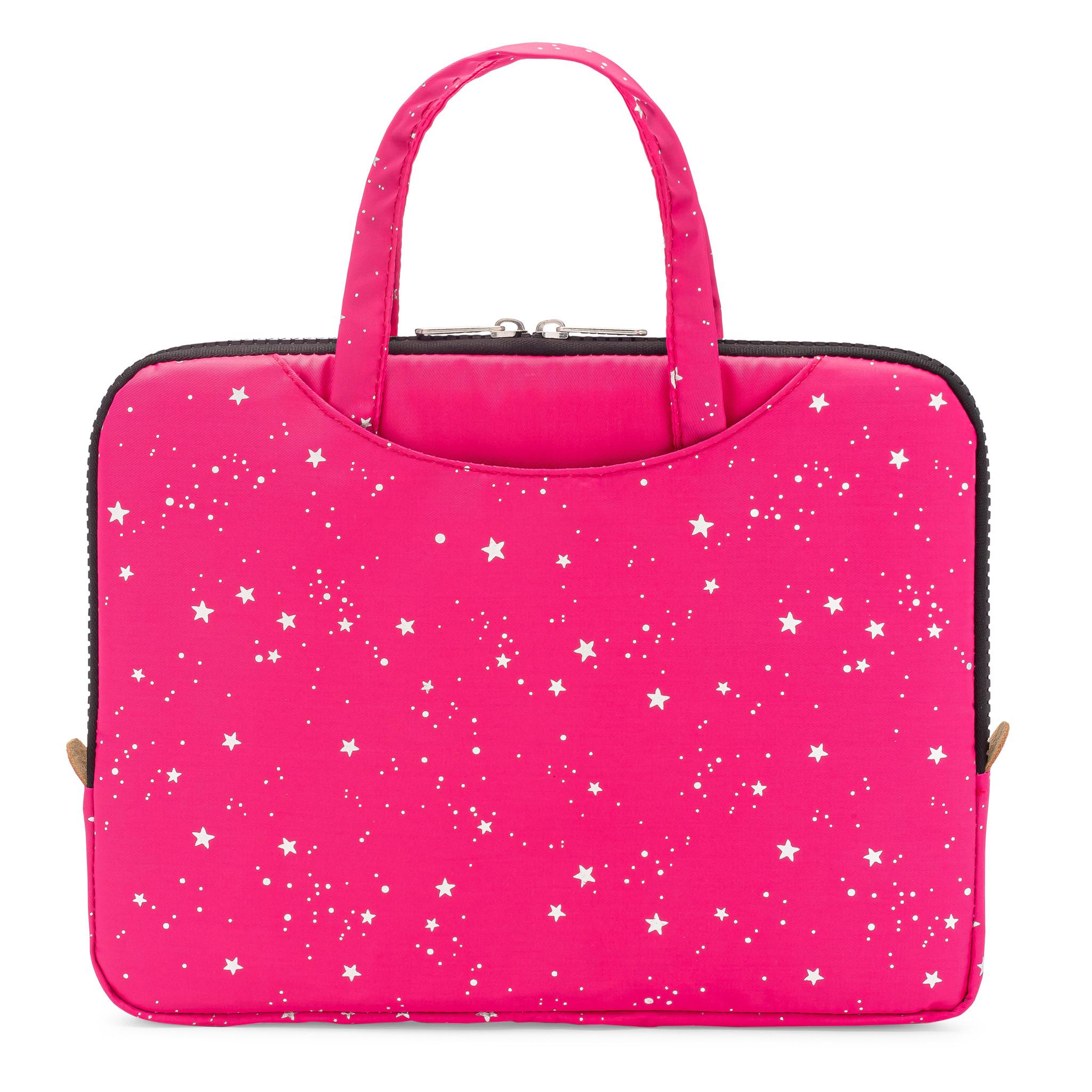 Yumbox Poche met handgrepen roze / sterren-1