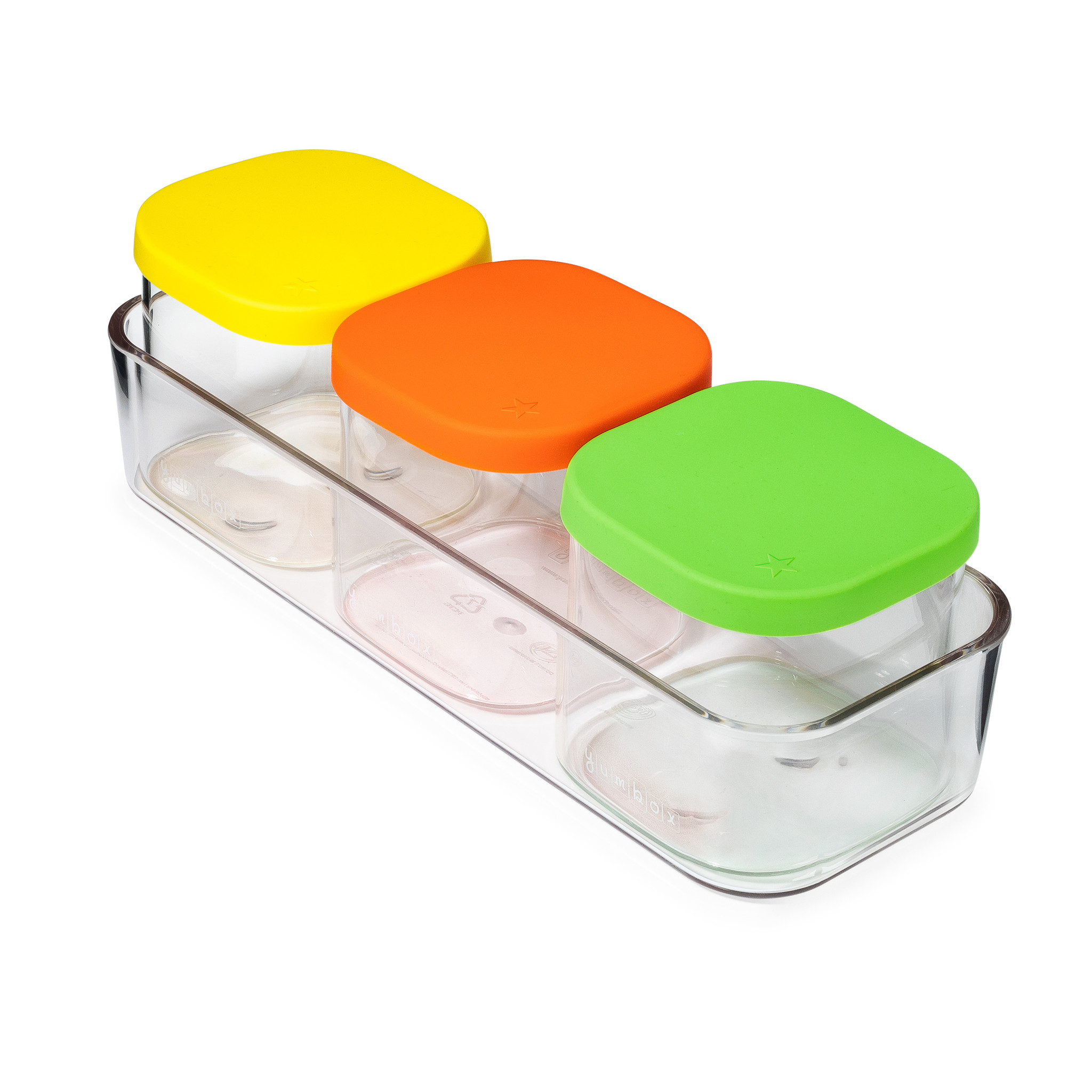 Yumbox Chop Chop tray, rectangular-9