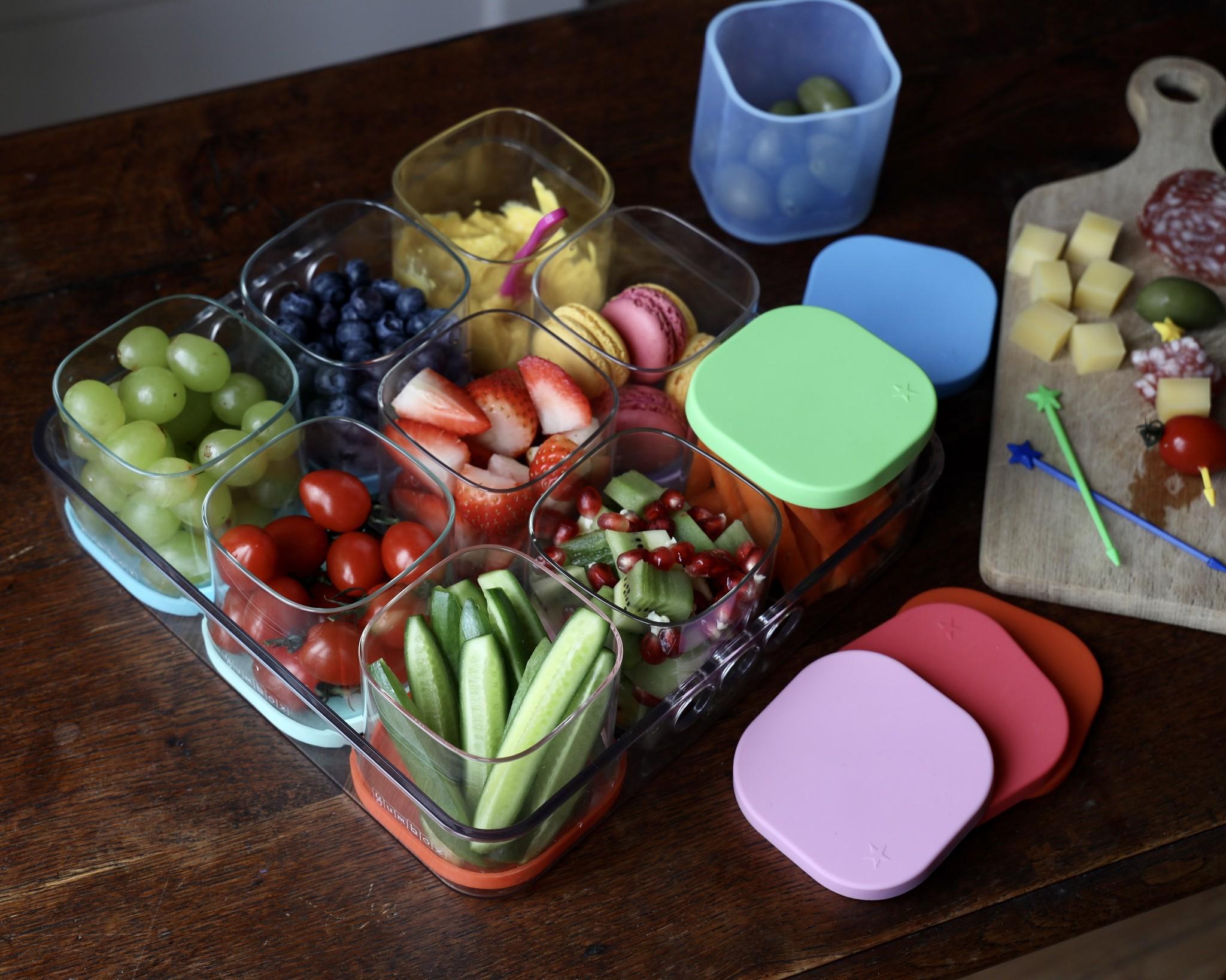 Yumbox Chop Chop tray, vierkant-10