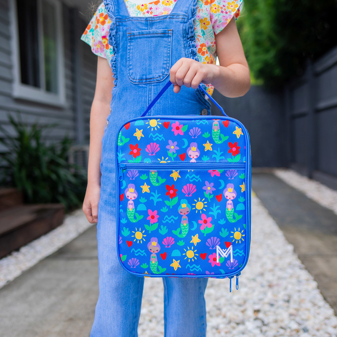 Montii insulated Lunch Bag - Mermaid V3-2