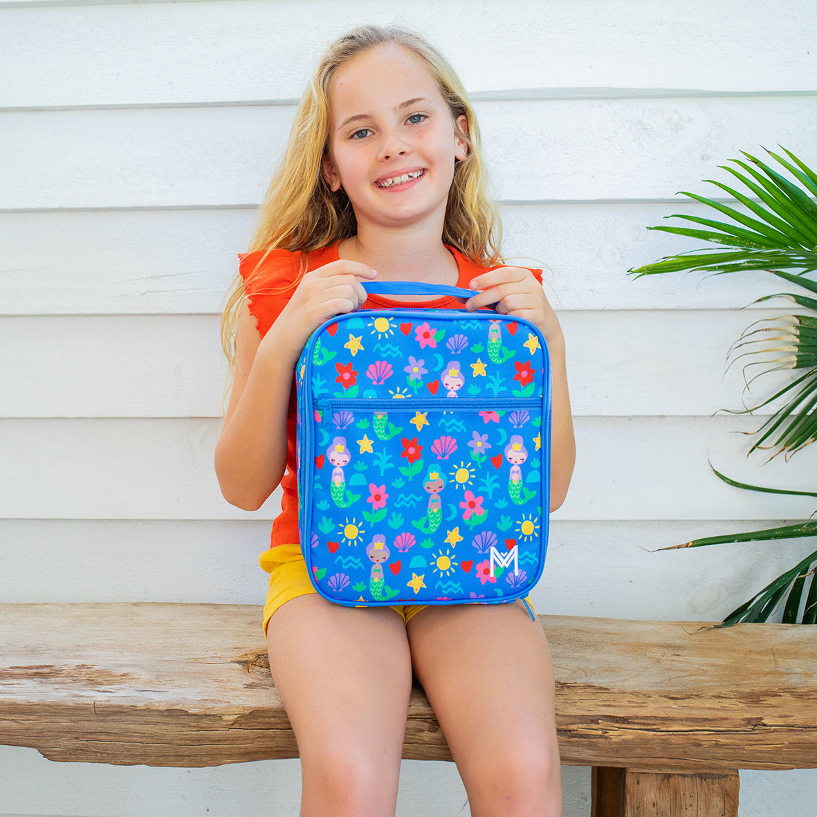 Montii insulated Lunch Bag - Mermaid V3-5