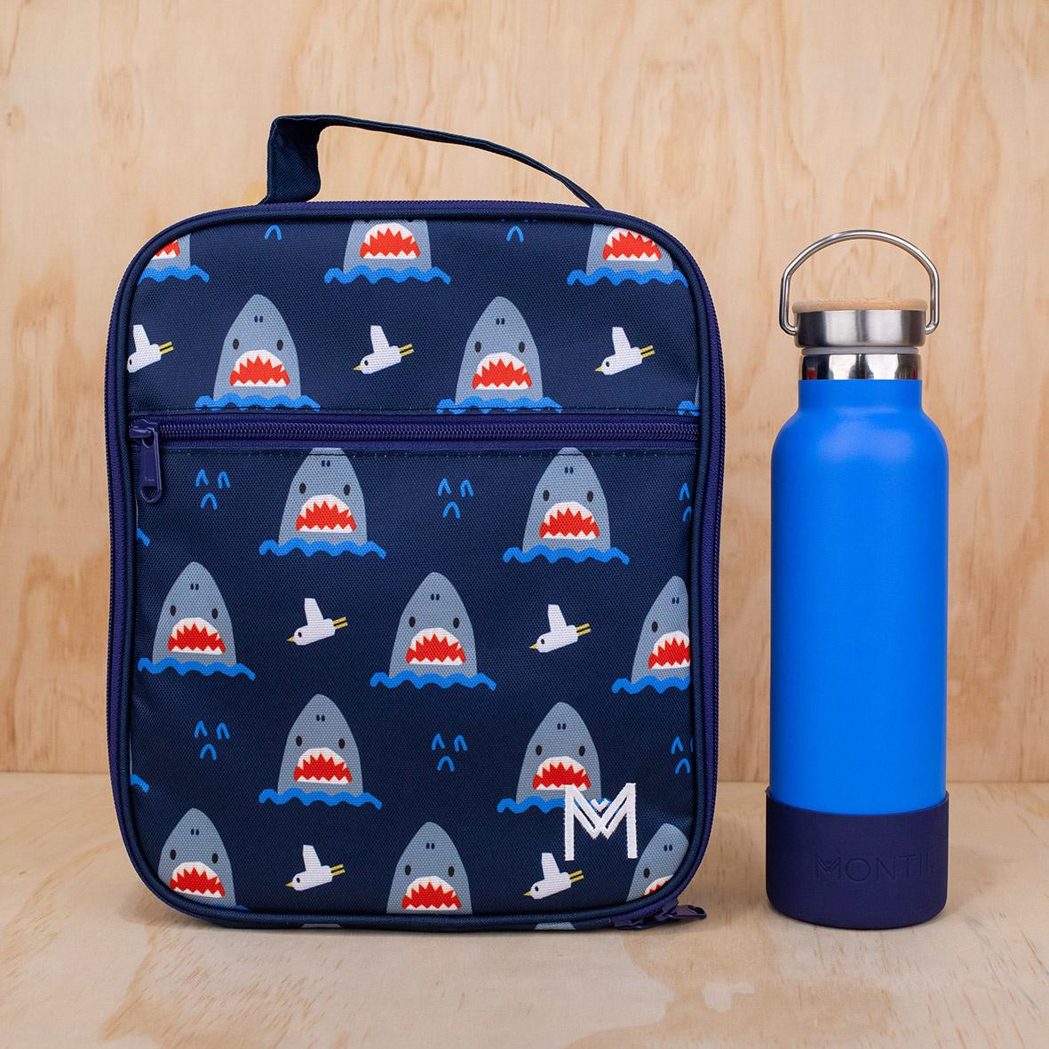 Montii thermisch isolerende Lunch Bag - Haai V2-6