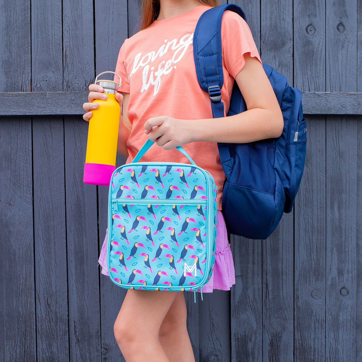 Montii insulated Lunch Bag - Toucan-2