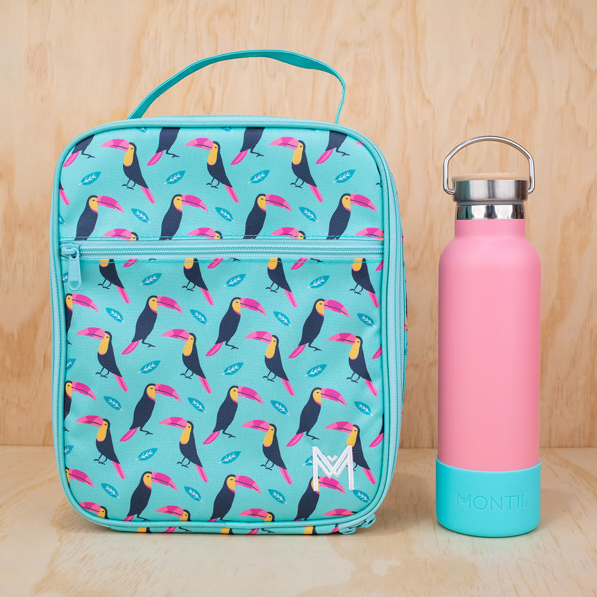 Montii insulated Lunch Bag - Toucan-4