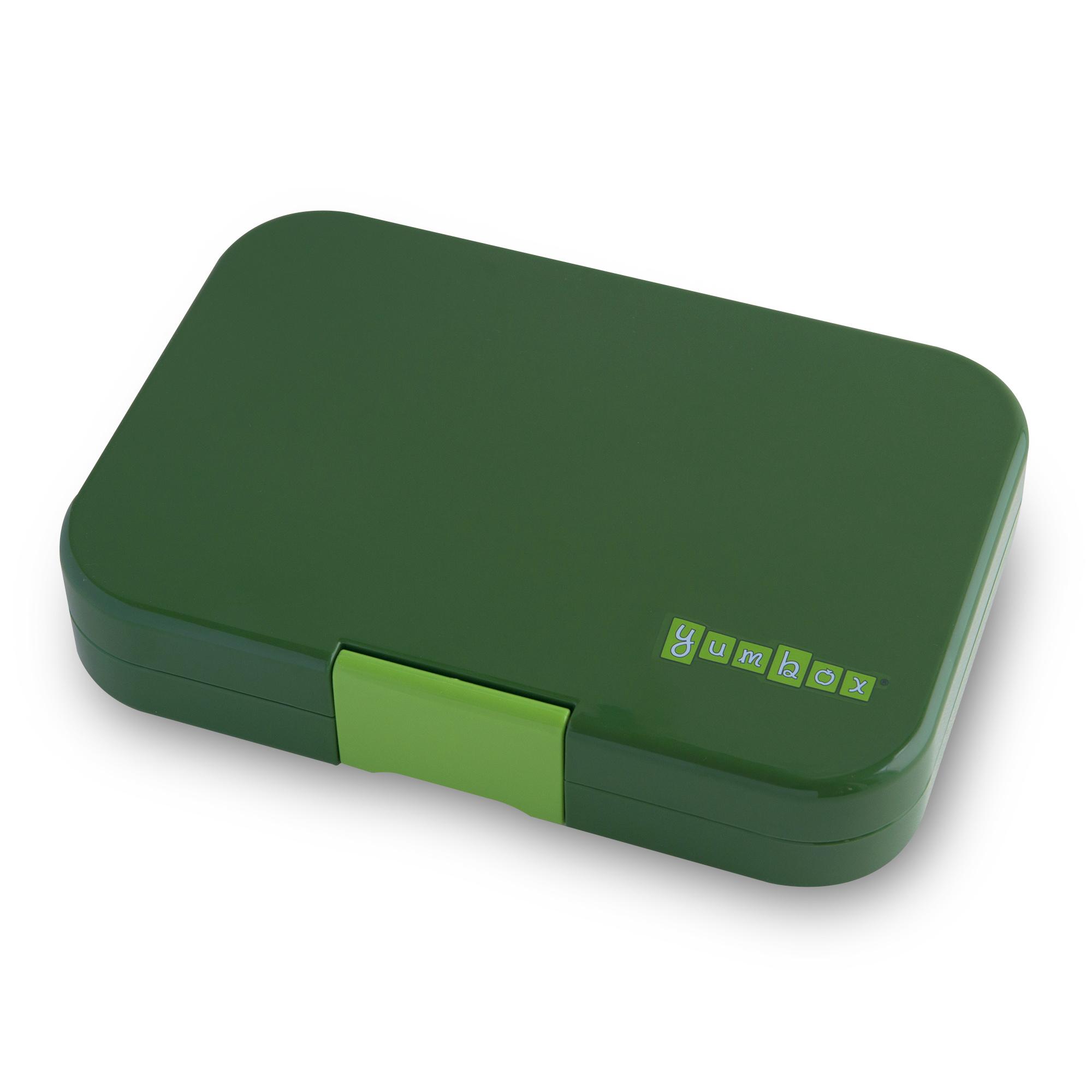 Yumbox Tapas XL lunchbox Brooklyn green / Bon appetit tray 5 vakken-3