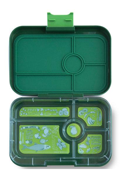 Yumbox Tapas XL 5-sections Brooklyn green