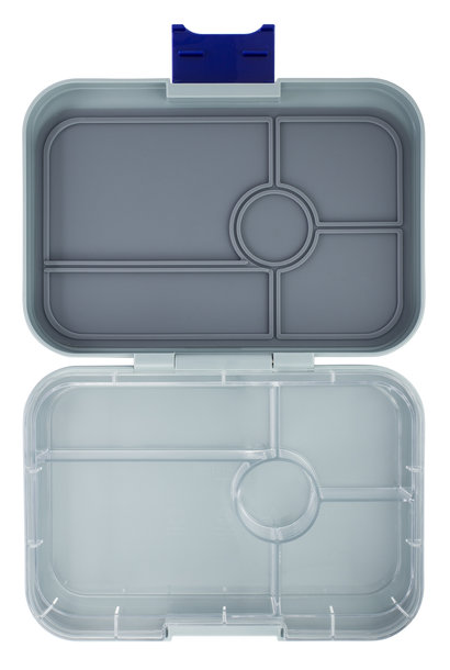 Yumbox Tapas XL 5-sections Flat Iron grey