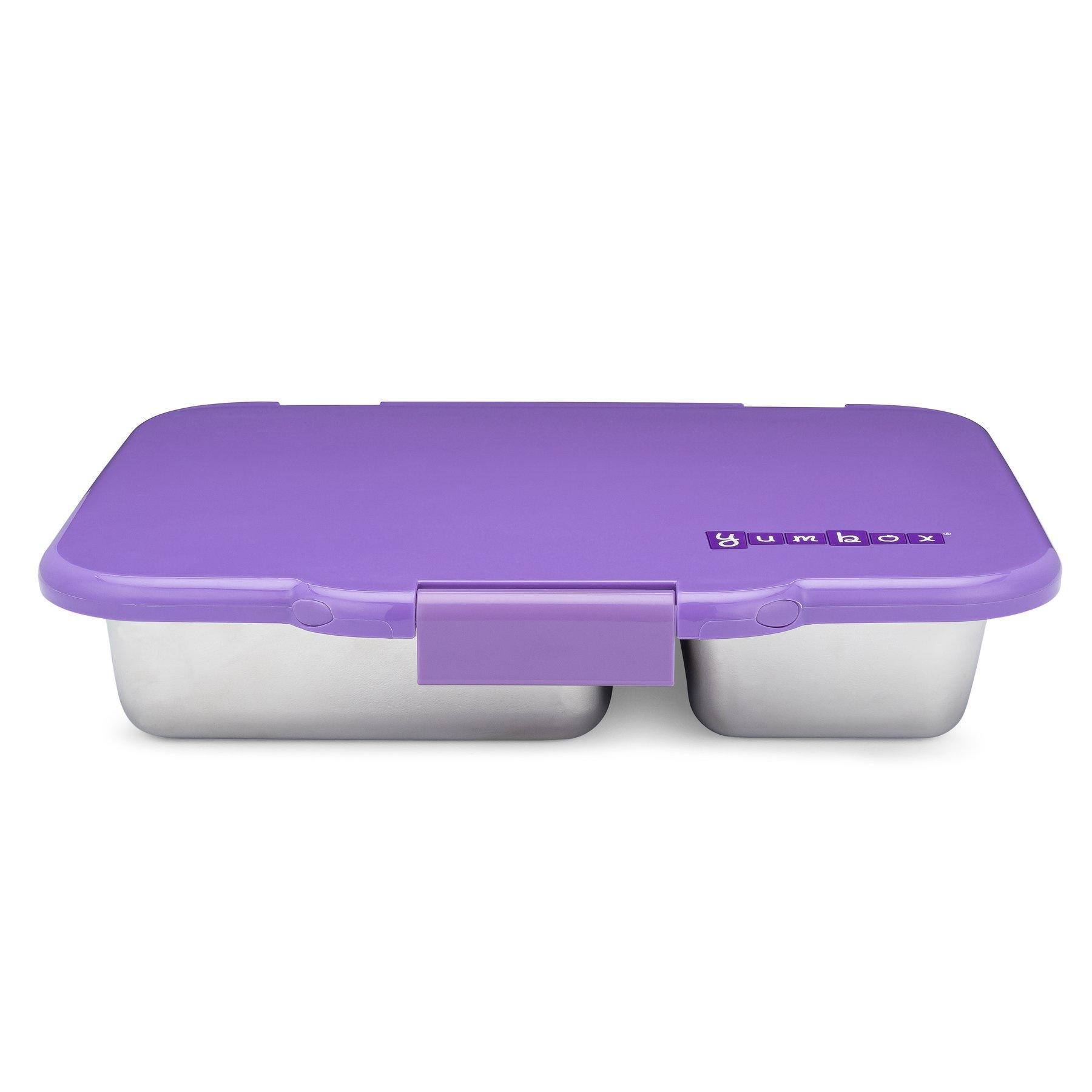 RVS lekvrije bento box - Remy Lavendel-4