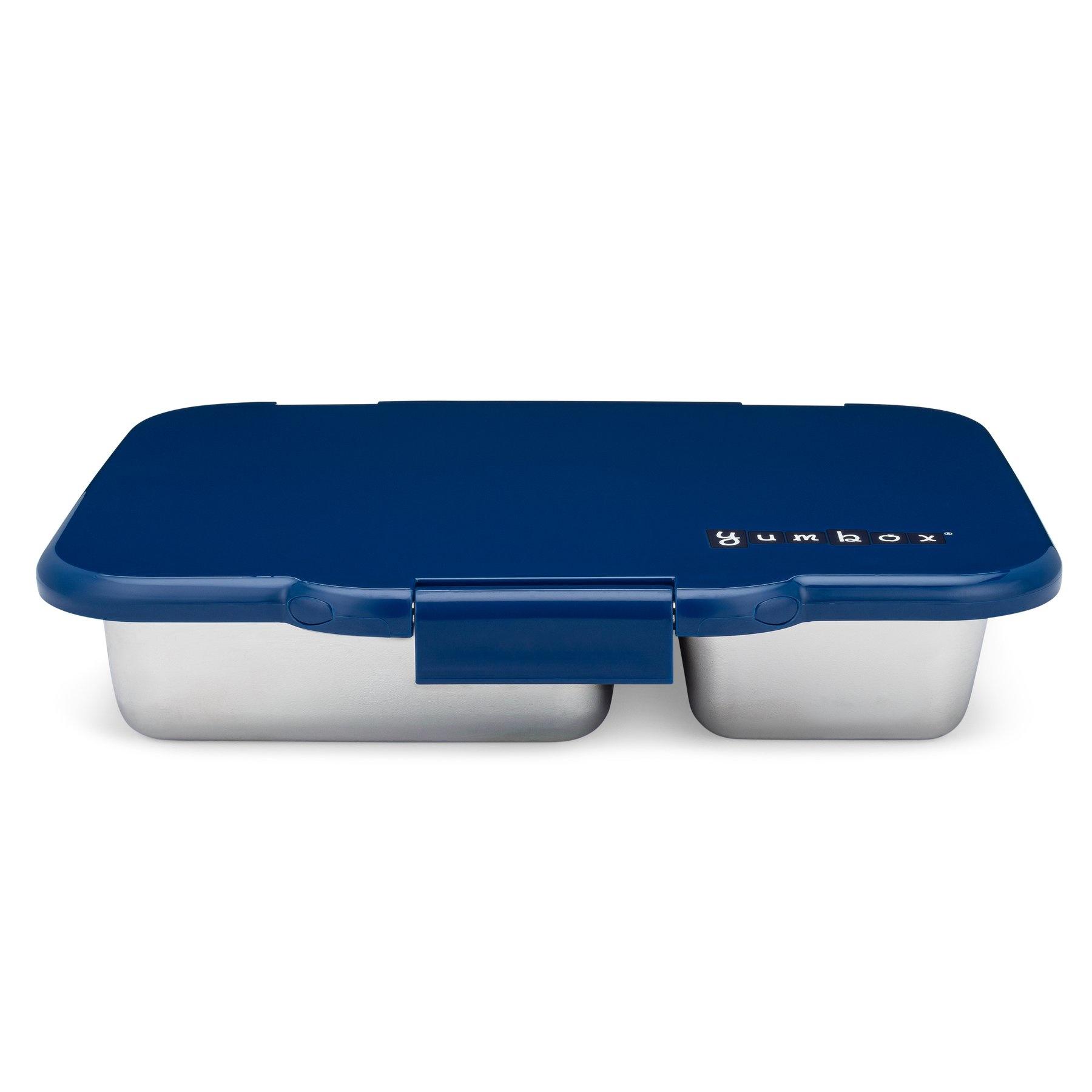 Stainless steel leakproof Bento Box - Santa Fe blue-4