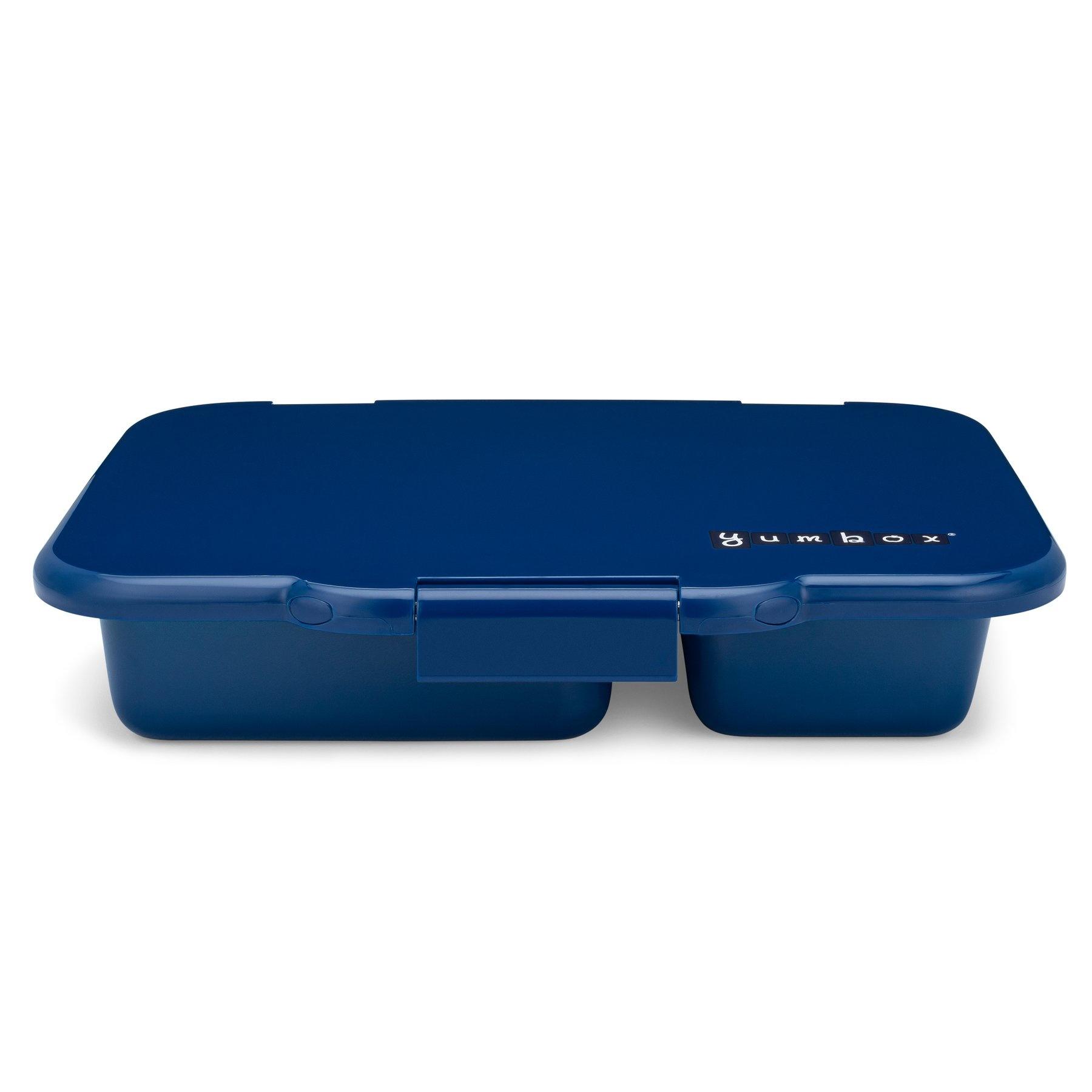 Stainless steel Bento Box with ceramic tray - Santa Fe blue-3