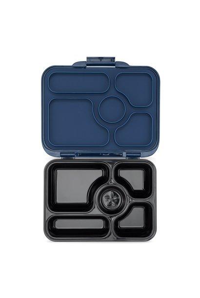 Stainless steel Bento Box/ceramic tray - Santa Fe blue