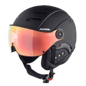 Alpina Alpina Jump 2.0 HM Skihelm Met Vizier - Zwart