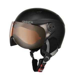 Sinner Typhoon Visor Junior Skihelm Met Vizier | 2019 | Matte Black