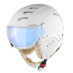 Alpina Alpina Jump 2.0 VM Skihelm Met Vizier   Photochromic   White Prosecco Matt