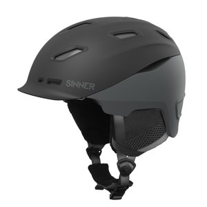 Sinner Moonstone Hybrid Skihelm | 2019 | Midnight Black Grey