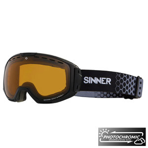 Sinner Mohawk Photochromic Skibril - Matte Black