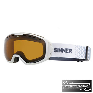 Sinner Mohawk Photochromic Skibril - Matte White
