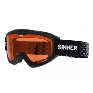 Sinner Lakeridge Skibril - Matte Black