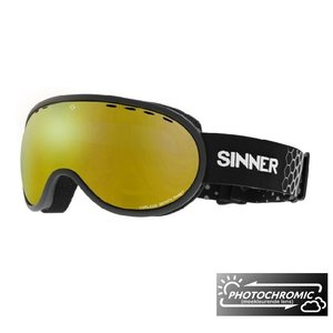 Sinner Vorlage Photochromic Skibril - Matte Black