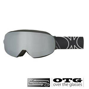 Slokker SP1 Photochromic OTG Skibril - Black + EXTRA LENS