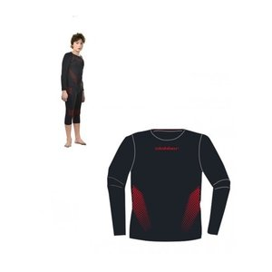 Slokker Meryl Skinlife Thermo Shirt Junior - Zwart