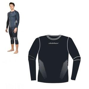 Slokker Meryl Skinlife Thermo Shirt Heren - Zwart