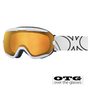Slokker RB OTG Skibril - White Blue