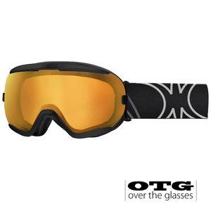 Slokker RB OTG Skibril - Black Red