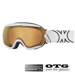 Slokker RB Photochromic OTG Skibril | White |2019 | Polar4