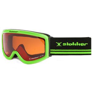 Slokker Gardena Junior Skibril - Groen