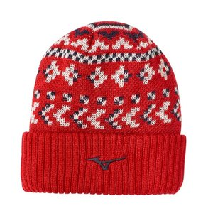 Mizuno Breath Thermo Beanie - Red
