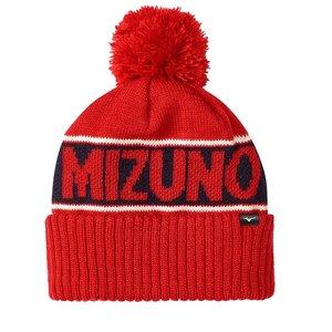 Mizuno Breath Thermo Bobble Hat - Red