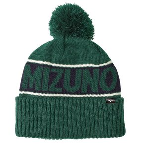 Mizuno Breath Thermo Bobble Hat - Green