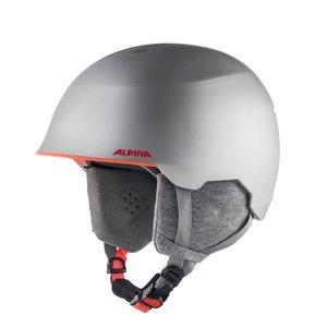 Alpina Alpina Maroi Junior Skihelm | Silver Flamingo Matt
