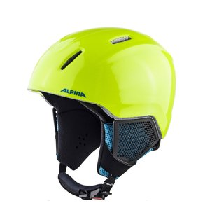 Alpina Carat LX Junior Skihelm | 2019 | Neon-Yellow
