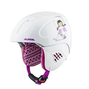 Alpina Alpina Carat Junior Skihelm - Wit