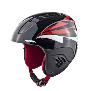 Alpina Carat Junior Skihelm | 2019 | Black Red